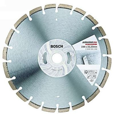 Диск алмазный 125х22мм PROFESSIONAL PLUS BOSCH